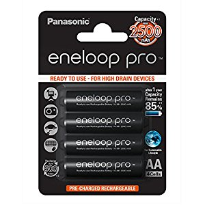 Panasonic ENELOOP PRO BK-3HCDE/4BE