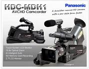 HMC MDH1 AVCHD PAL + dodatna baterija VGB260