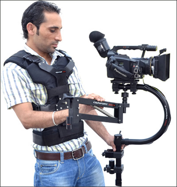 FlyCam C-FLYCAM Stabilization System with Comfort Arm and Vest