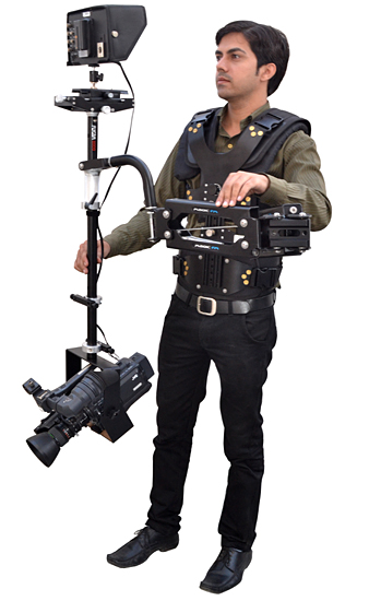 FlyCam 6000 Stabilization System with Magic Arm-FM and PV-7900 Vest