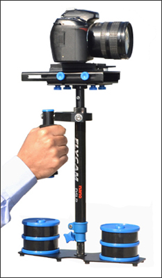 FlyCam DSLR Nano Blue with Quick Release