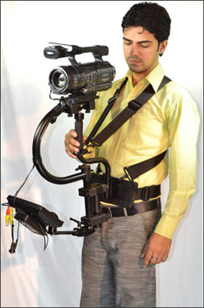 FlyCam Pro Stabilizer with Body Pod and 7