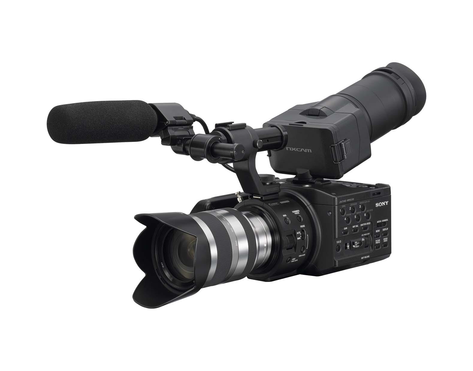 Sony NEX-FS100 DV w/18-200
