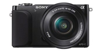 Sony Alpha NEX-3NY Double Kit (16-50)(55-210)Black