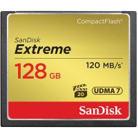 SanDisk Extreme  CF 128GB 120Mb/s