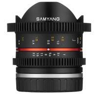 Samyang VDSLR 8mm T3.1 UMC Fish-eye II