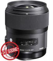 Sigma 35mm f/1.4 DG HSM Art * 5 godina garancija * (Canon/Nikon)