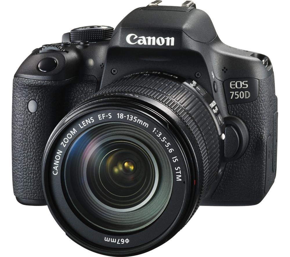 Canon EOS 750D 18-135 IS STM