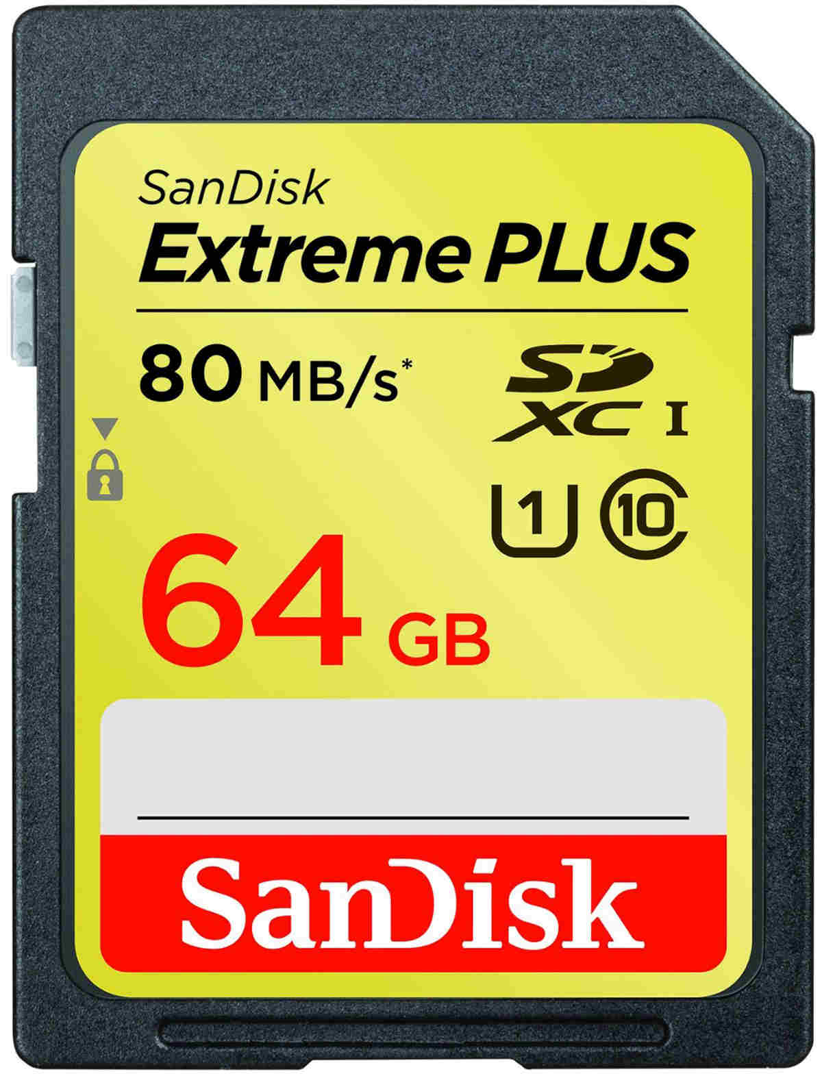 SanDisk SDXC 64GB Extreme Plus 80MB/s Class10