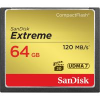 SanDisk  Extreme CF 64GB 120Mb/s