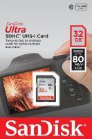SanDisk SDHC 32GB Ultra 80MB/S UHS-I (SDSDUNC-032G)