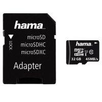 Hama 32 GB  micro SDHC-I   45MB/s