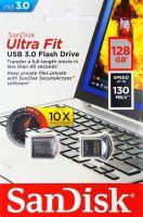 SanDisk Ultra Fit 3.0 Usb Flash Drive 128GB 130MB/s