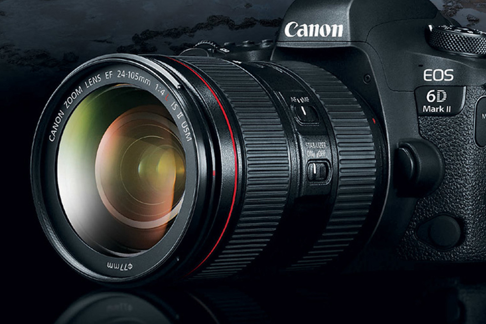 Canon EOS 6D Mark II 24-105 F4 IS L USM II
