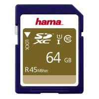 Hama 64GB  SDXC UHS-I 45MB/s