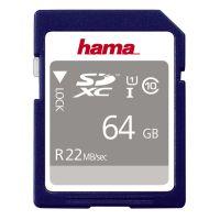 Hama 64GB  SDXC UHS-I 22MB/s
