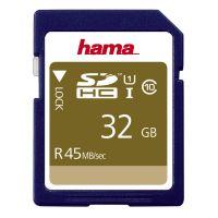 Hama 32GB  SDHC UHS-I 45MB/s