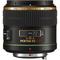 Pentax 55mm f/1.4 DA* SDM Telephoto Autofocus Lens for Digital SLR