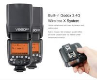 Godox V860n II E-TTL Li-ion Camera Flash kit with reciever for Nikon