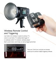 Godox Wistro AD600 TTL All-in-One Outdoor Flash