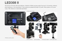 Godox LED 308IIW White + NP F550 bat + punjac (LED308II-W)