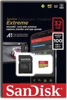 SanDisk Micro SDHC 32GB Extreme 100MB/s 667x 3U 4K