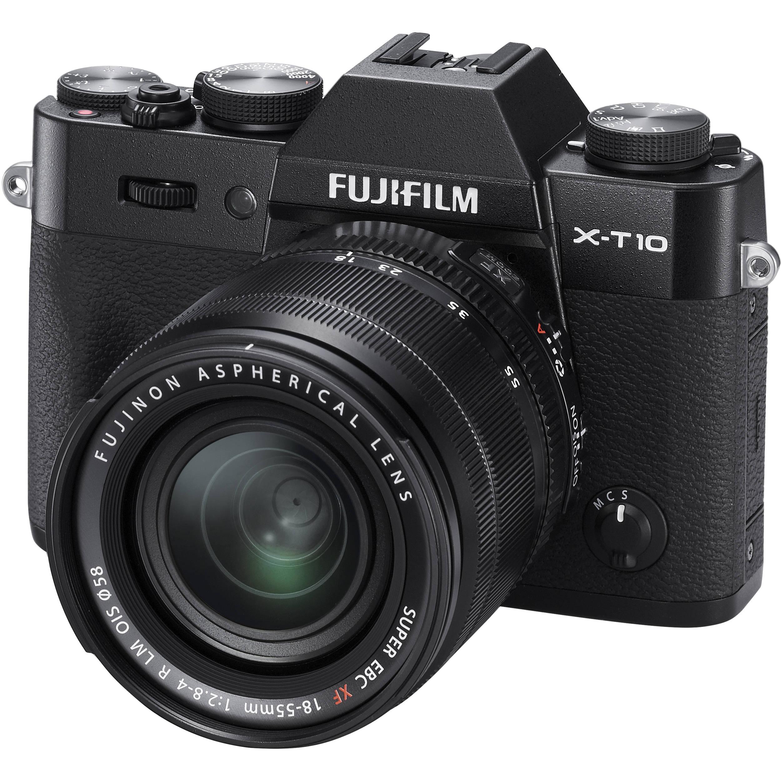 Fuji X-T10 18-55mm