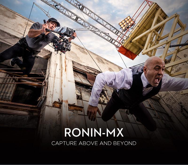 DJI Ronin-MX 3-Axis Gimbal Stabilizer Camera Gimbal