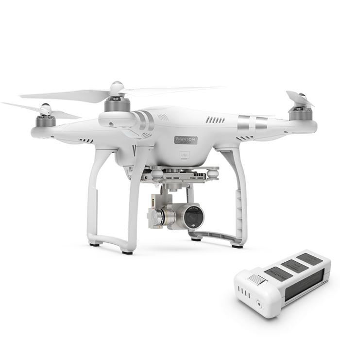 DJI Phantom 3 Advanced + Extra baterija