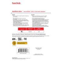 SanDisk Micro SDHC 16GB Ultra  80MB/s