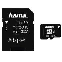 Hama Micro SD 8GB 22Mb/s