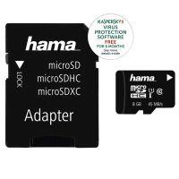 Hama Micro SD 8GB 45Mb/s