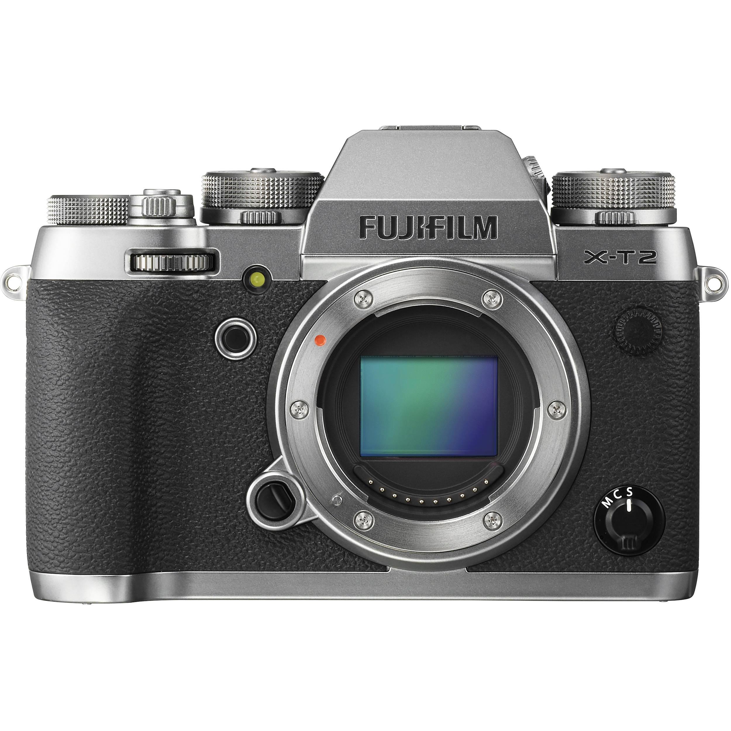 Fujifilm X-T2 Graphite silver telo