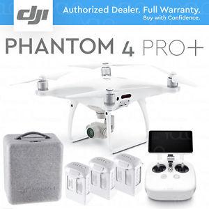 DJI Phantom 4 Pro + ( RC sadisplejom) + 2 dodatne baterije
