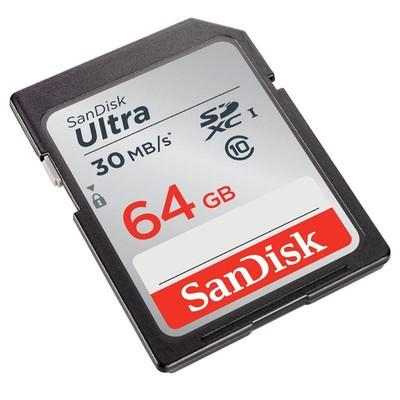 SanDisk 64GB 30 MB/S SDXC