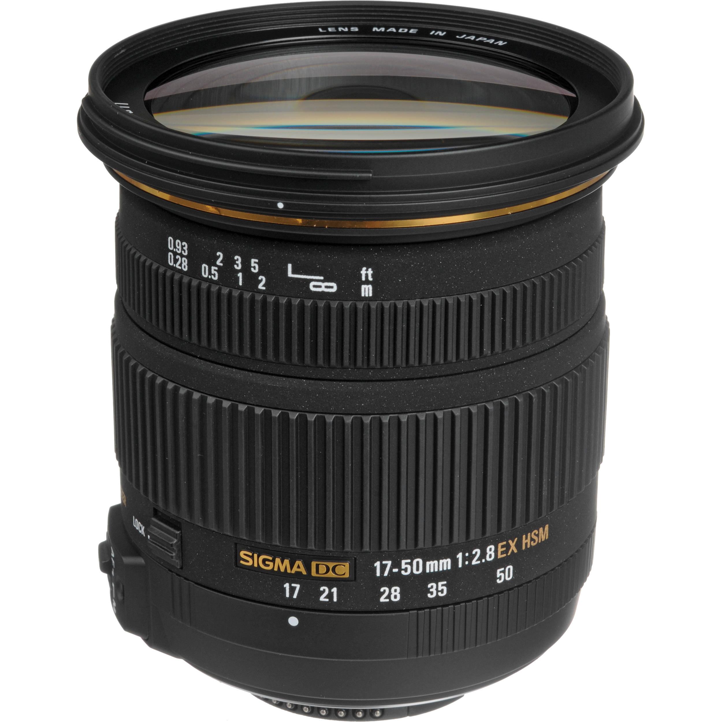 Sigma 17-50mm f/2.8 EX DC OS HSM za nikon