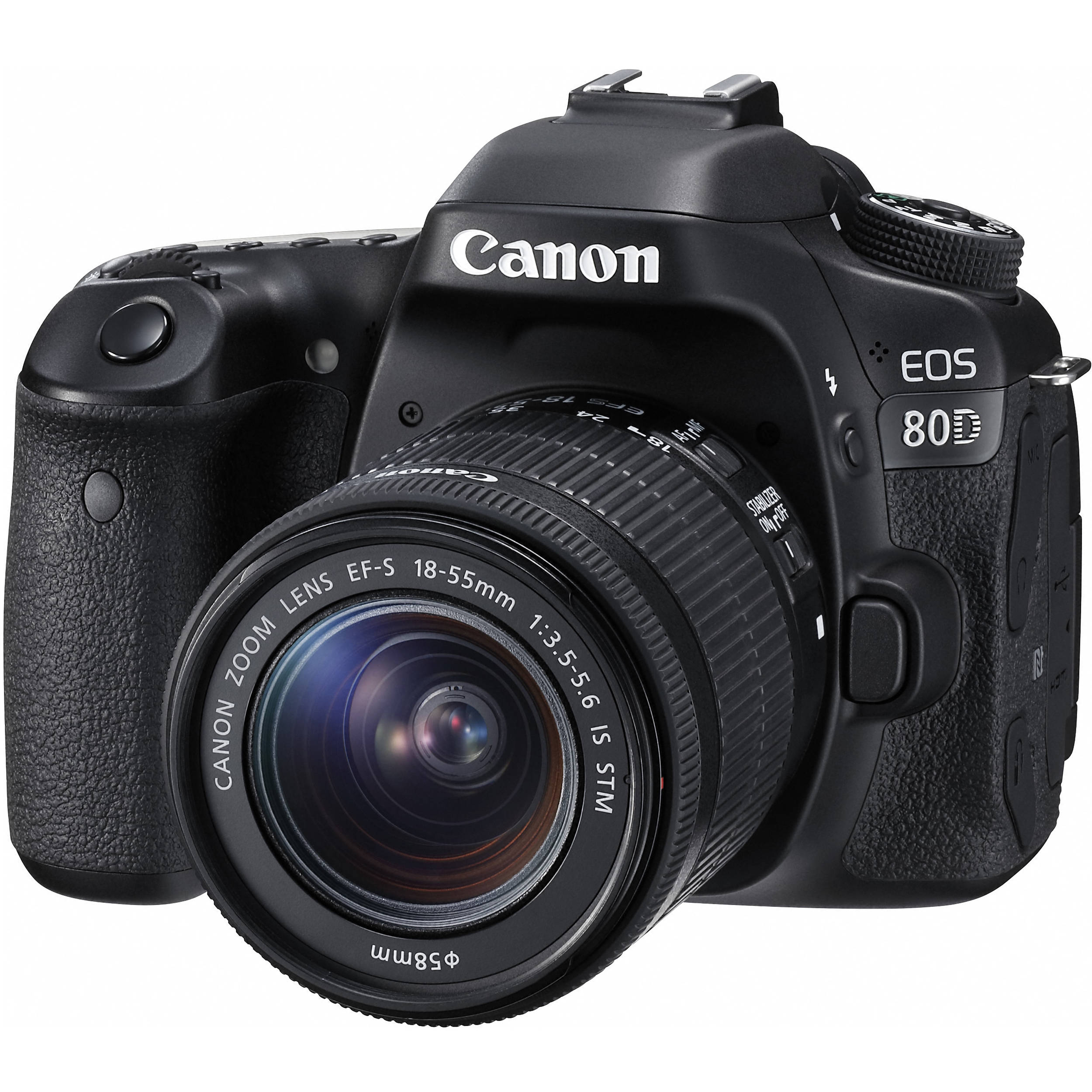 Canon EOS 80D sa 18-55mm IS STM