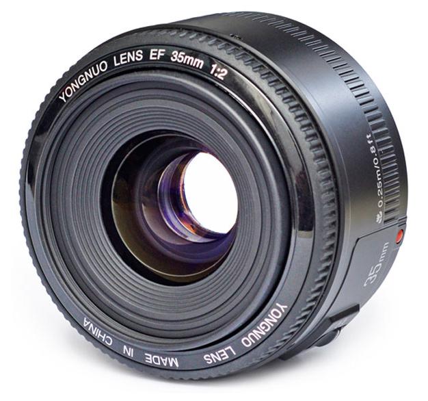 Yongnuo 35mm f/2 nikon i canon