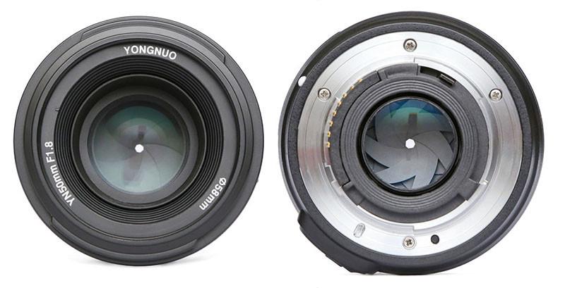 Yongnuo YN50mm f/1.8 Lens for Nikon F