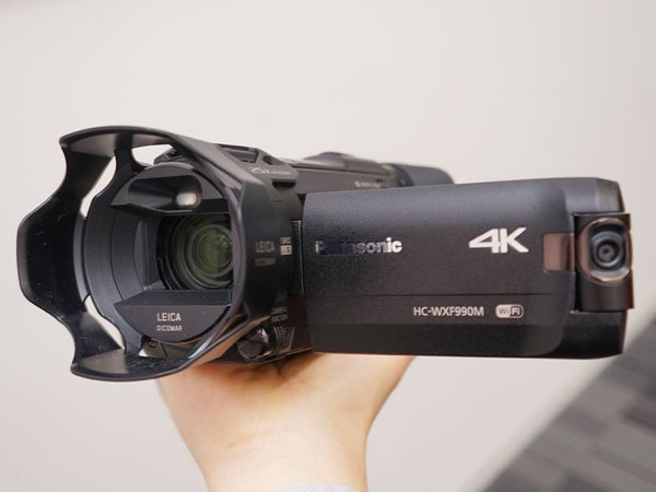 Panasonic HC-WXF990M 4K Video Kamera