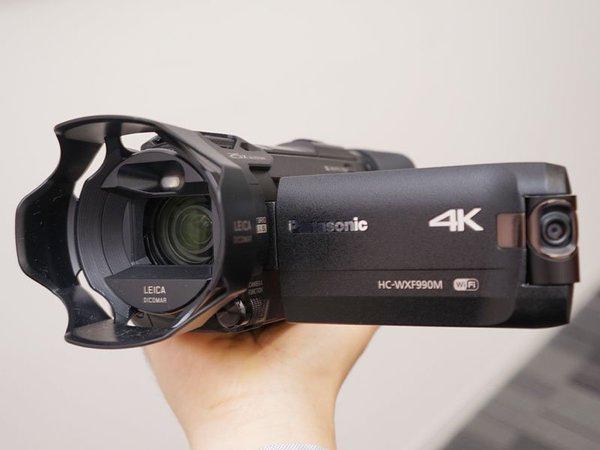 Panasonic hc-wxf990m 4K Video Kamera