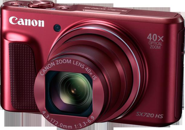 Canon PowerShot SX720 HS crveni