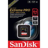 SanDisk SDXC 64GB Extreme Pro 300MB/s U3 UHS-II (SDSDXPK-064G)