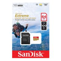 SanDisk micro SD 64GB 100MB/s 667x Extreme 3U 4K Action