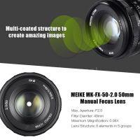 Meike Meike 50mm f2 za E-mount i Fuji FX