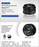 Meike Meike 35mm f1,7 za E-mount i Fuji FX