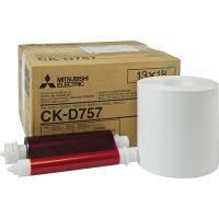 Mitsubishi CK-D757 13x18 papir i ribon za Mitsubishi stampac