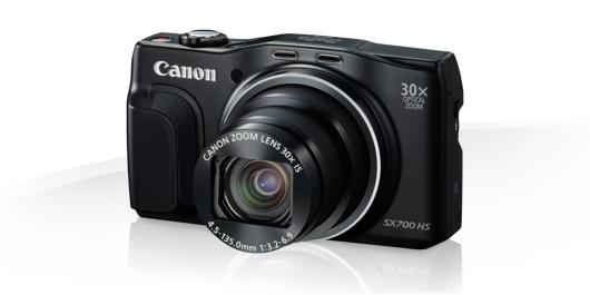 Canon PowerShot SX700 HS crni