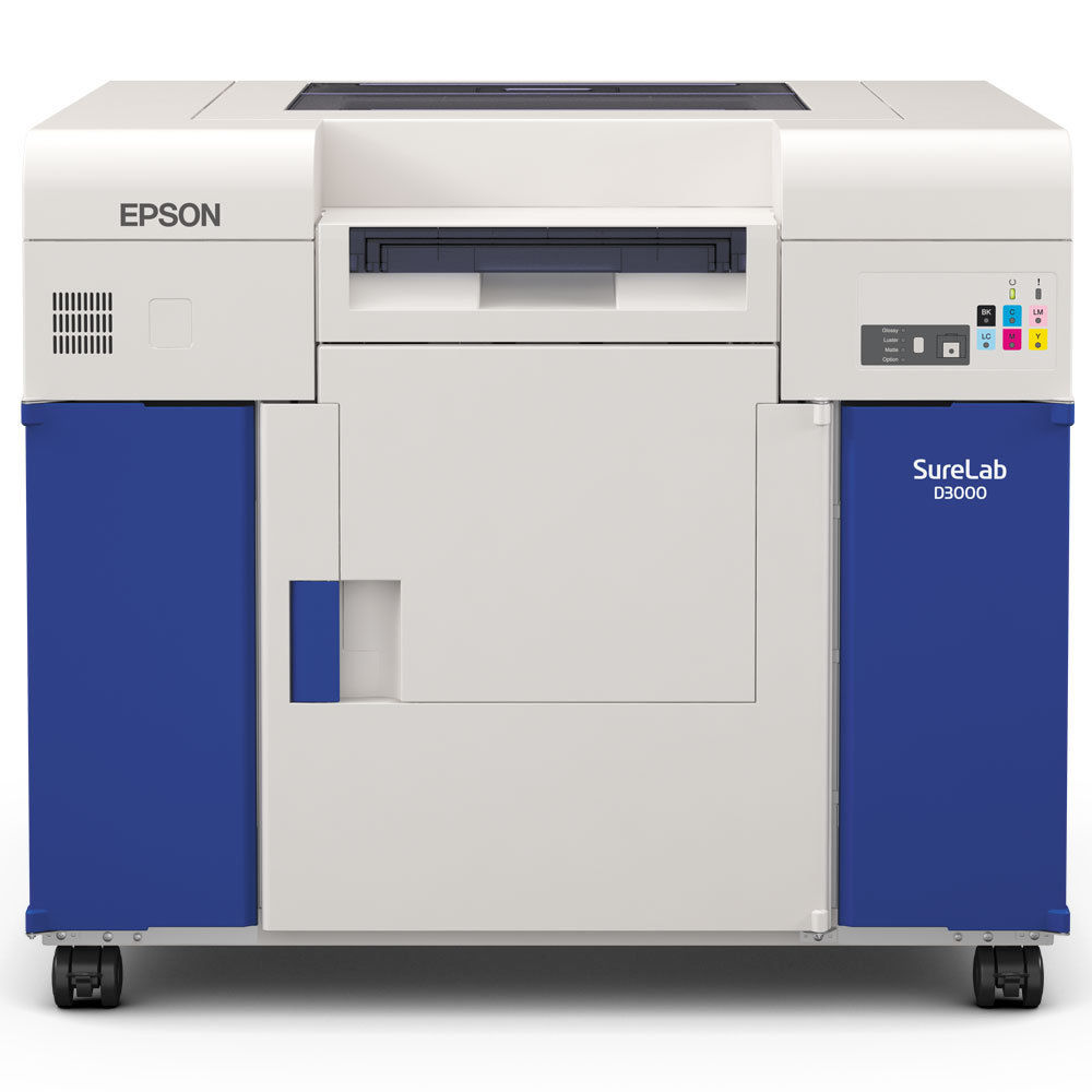 Epson Sure Lab D3000 demo uradio 3900 Printova