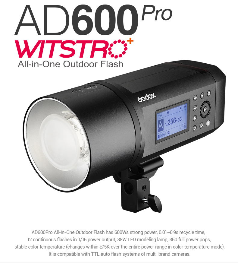 Godox AD600 Pro  All-in-One Outdoor Flash